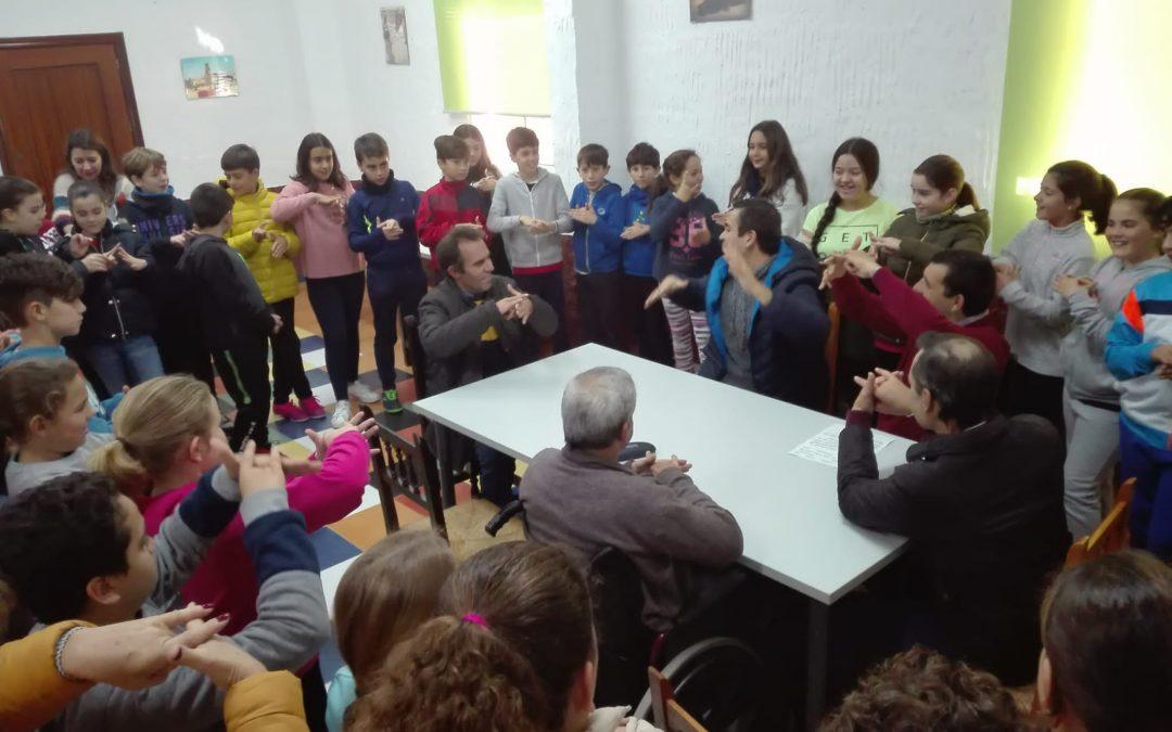 La Residencia 'Betsaida' celebró el Día Internacional de las Personas con Discapacidad con alumnos de Primaria de un colegio de Beas