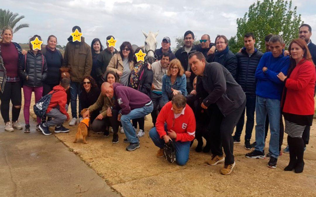 Día de convivencia de la Unidad de Salud Mental Infantil del hospital 'Vazquez Díaz' en Betsaida