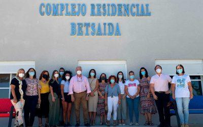 LA MANCOMUNIDAD CAMPIÑA – ANDÉVALO VISITA EL COMPLEJO RESIDENCIAL BETSAIDA