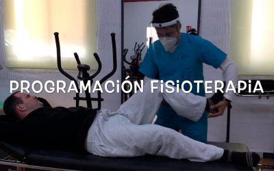 PROGRAMACIÓN DE FISIOTERAPIA