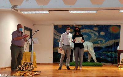 BETSAIDA RECIBE EL PREMIO PLATERO DE ORO