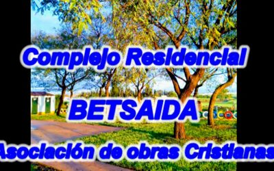 Homenaje a los trabajadores del complejo residencial 'Betsaida'